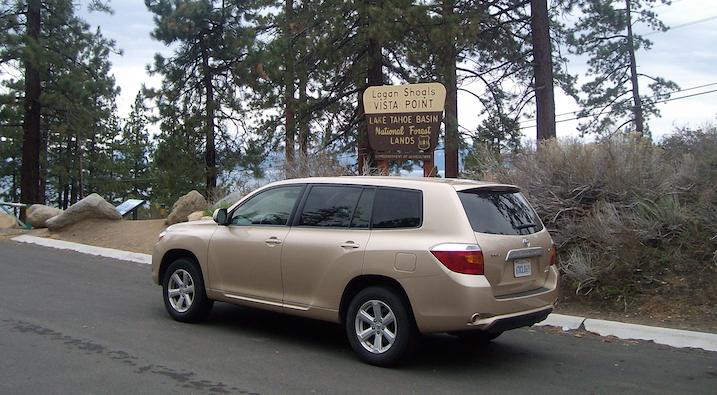 mietwagen-toyota-highlander-lake-tahoe
